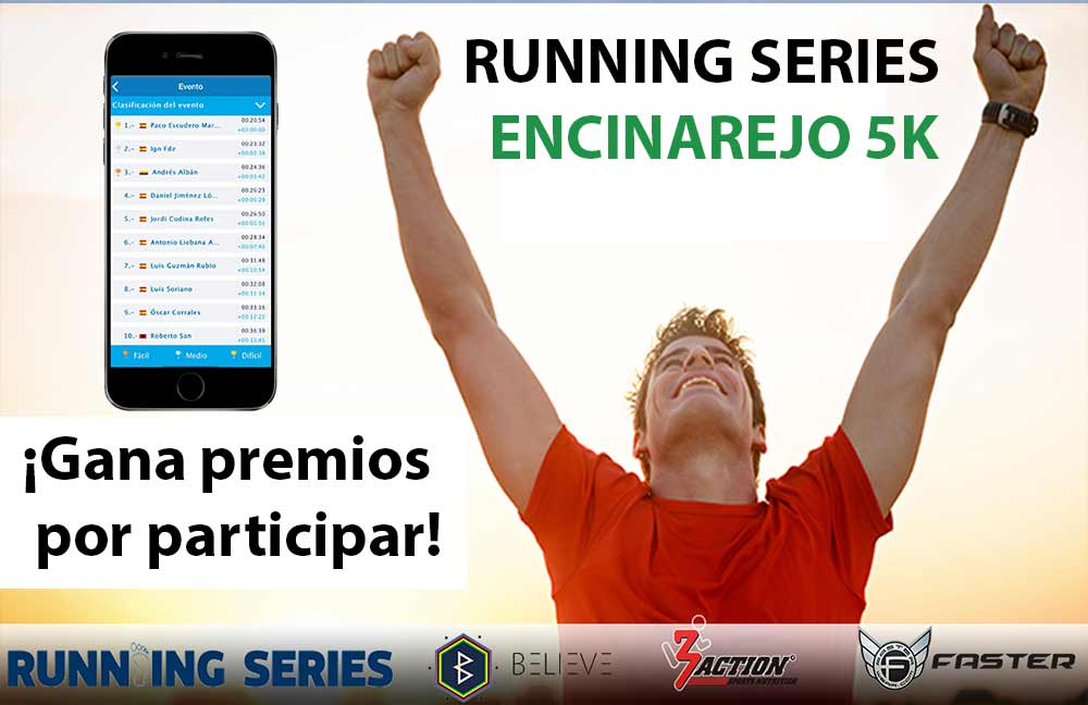 Running SERIES ENCINAREJO