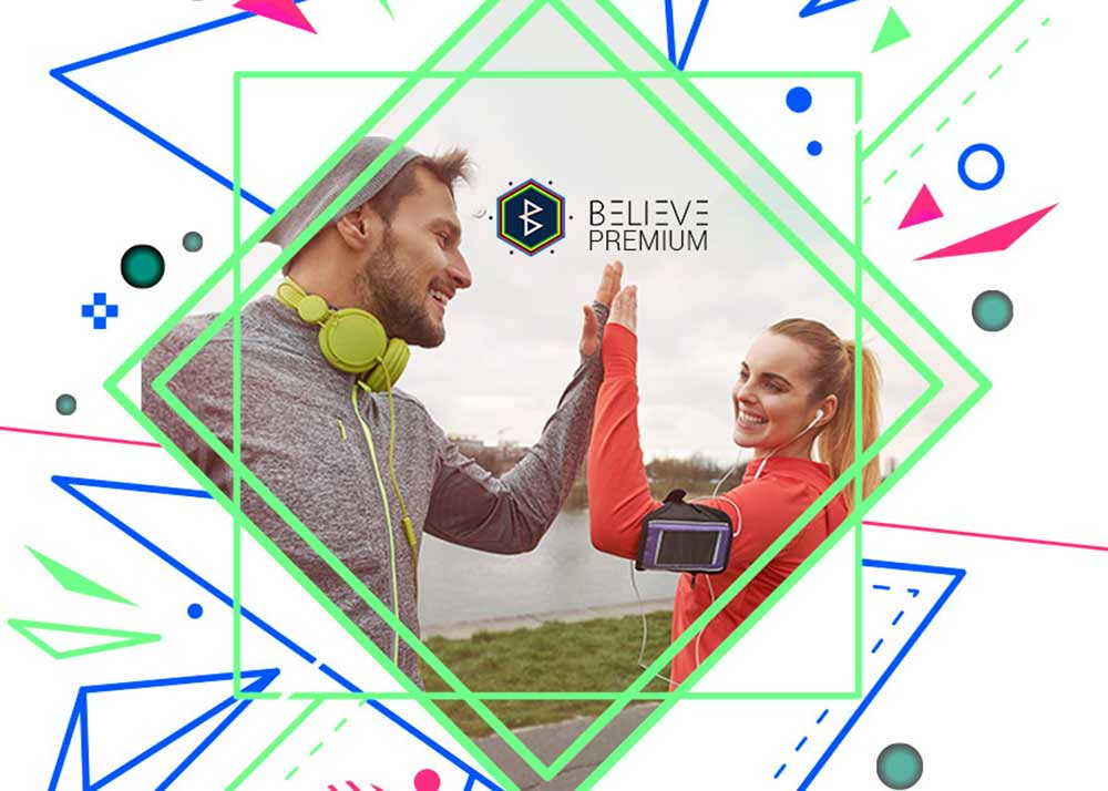 5K MUSIC BY BELIEVE APP